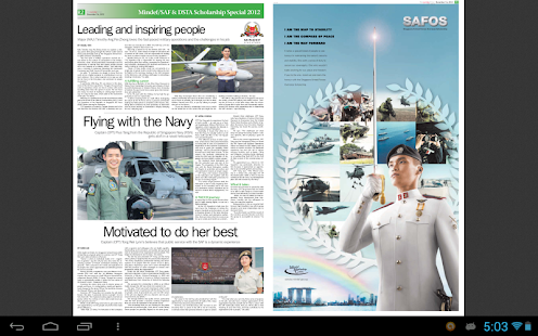 Mindef/ SAF & DSTA Scholarship- screenshot thumbnail