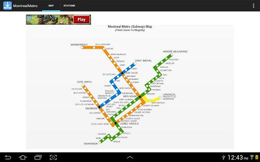 【免費旅遊App】Montreal Metro-APP點子