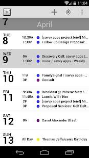 Agenda Calendar - screenshot thumbnail