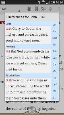 Online Bible - screenshot