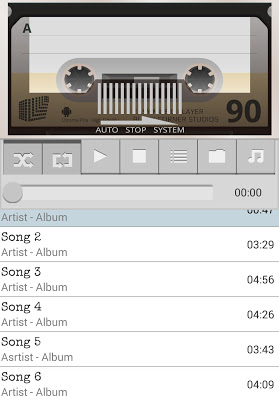 Easy Music Player - screenshot
