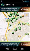 Screenshot of ATMs Finder