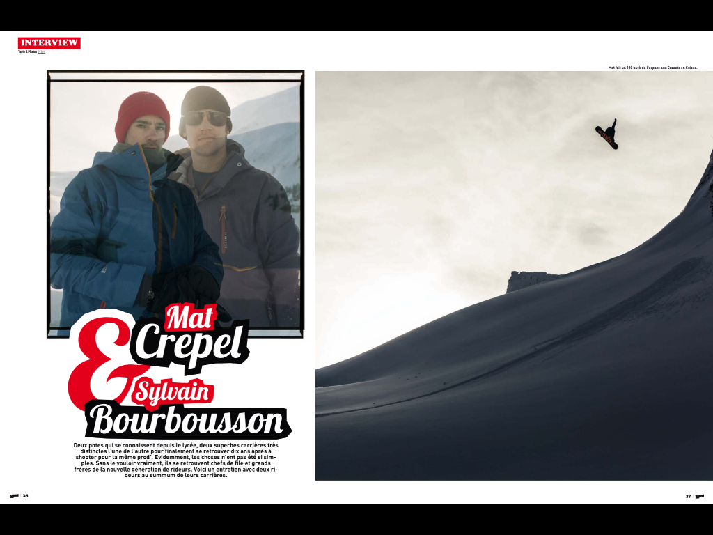 Snowsurf Magazine- screenshot
