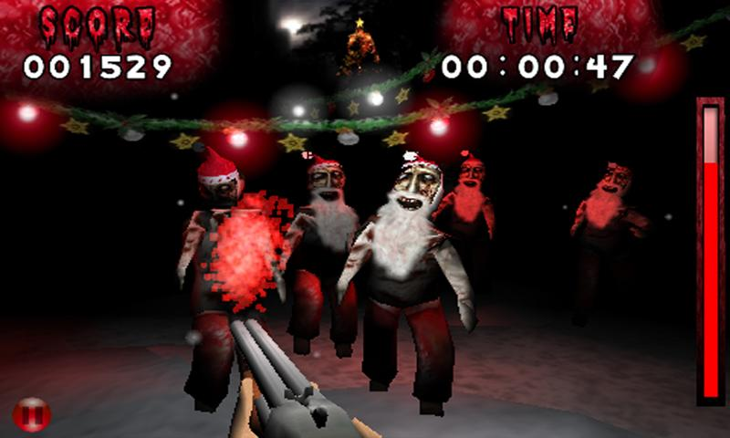 Ambush Zombie Christmas Free - screenshot