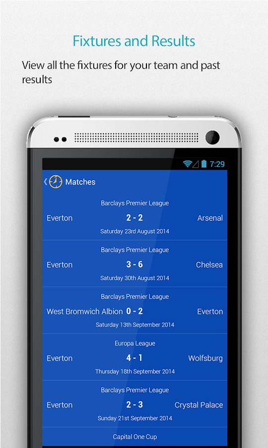 Everton Alarm- screenshot