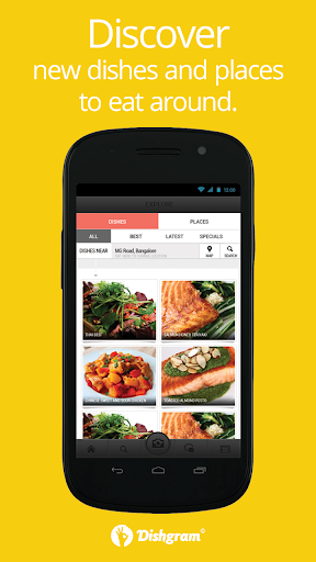 Dishgram - Find Share Food