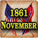 1861 Nov Am Civil War Gazette logo