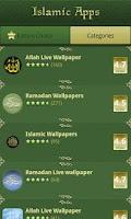 Screenshot of Islamic Apps