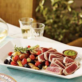 Olive Oil-Poached Tuna