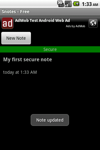 Snotes - Free - screenshot