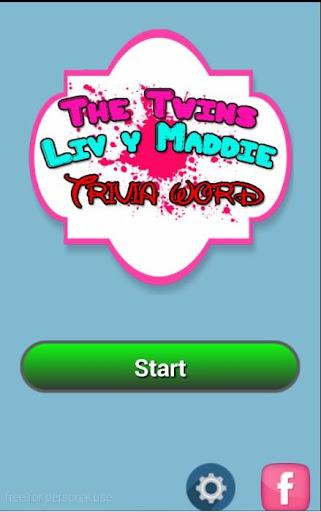 The Twins Liv y Maddie Trivia screenshot