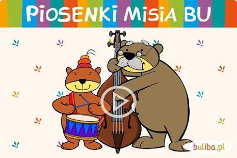 Piosenki Misia Bu dla dzieci Screenshot 1