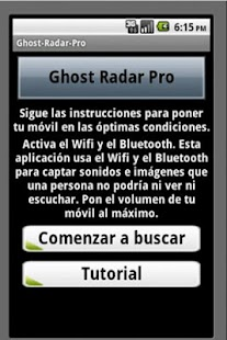 Ghost Detector Android - screenshot thumbnail