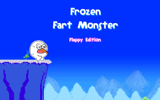 Frozen Fart Monster - flappy
