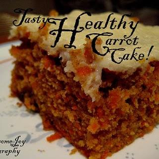 Tasty Healthy Carrot Cake Recipe!