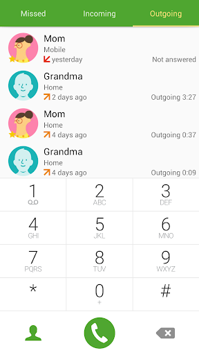 Ex GS6 Theme for ExDialer