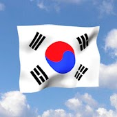 Korean Flag  Livewallpaper