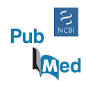 PubMed search logo