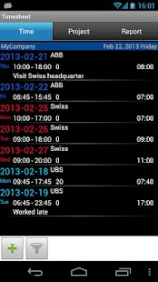 Timesheet - screenshot thumbnail