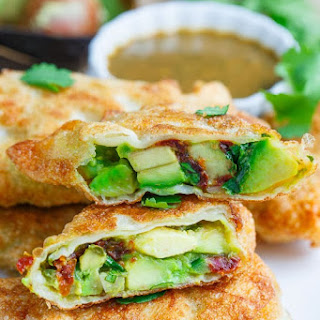 Cheesecake Factory Avocado Egg Rolls.