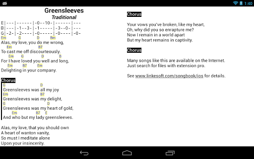 Songbook Apps On Google Play