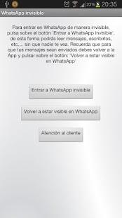 Ocultar estado WhatsApp fácil