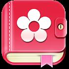 生理日・排卵日予測   アプリ無料 避妊 妊活 基礎体温 icon