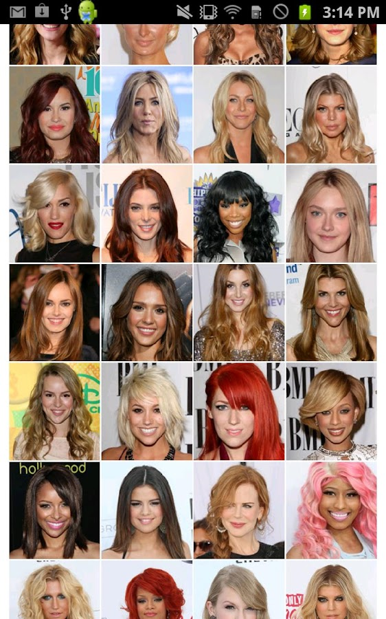 Different Hairstyles different haircuts google search Ultimate Hairstyle Try On Screenshot