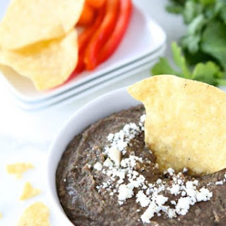 Easy Black Bean Dip Recipe