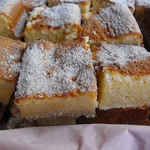 Lemon Tray Cake