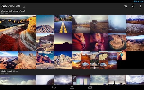 500px – Discover great photos - screenshot thumbnail