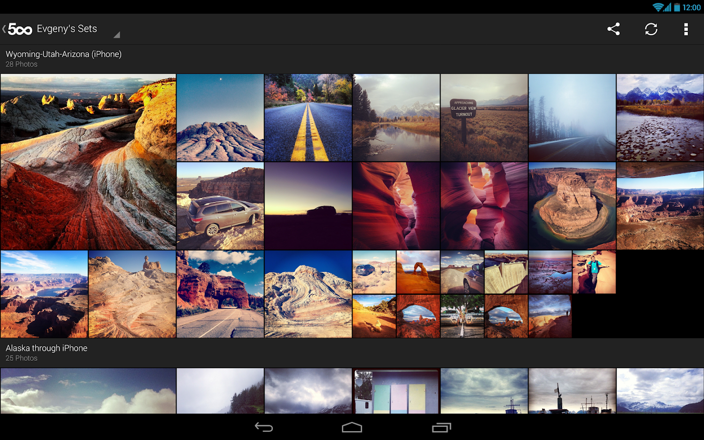 500px – Discover best photos - screenshot