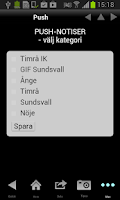 Screenshot of Sundsvalls Tidning