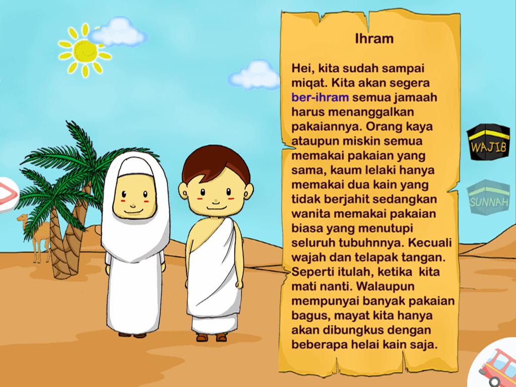Gambar Kartun Haji Cilik Nusagates