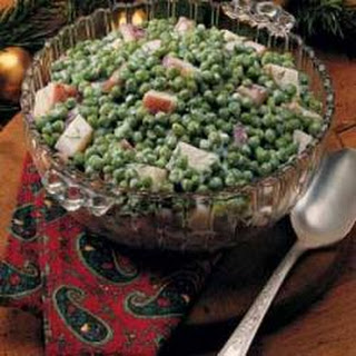Creamed Peas and Potatoes