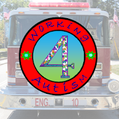 Working 4 Autism Firetruck