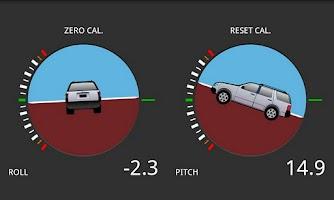 Screenshot of Tilt meter