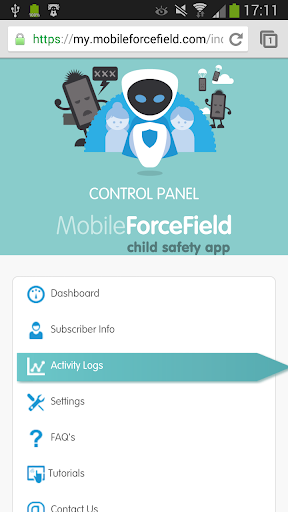 Mobile Force Field Browser