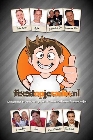 Feest op je radio App