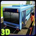 bus simulador motorista 3d icon