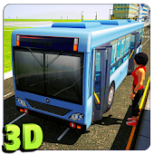 Download Full Bus Driver 3D Simulator  APK
