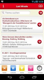 IG BCE BWS Seminare - screenshot thumbnail