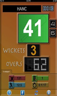 Cricket Scoreboard - screenshot thumbnail
