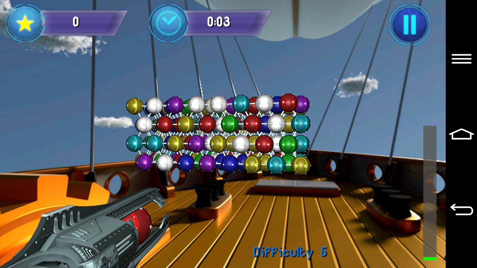 bubble shooter 3d