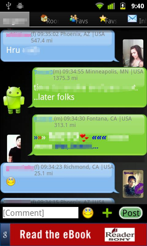 gMob 365 Chat - screenshot