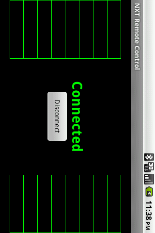 NXT Remote Control- screenshot