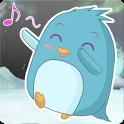 Dancing Penguin LWP Free icon