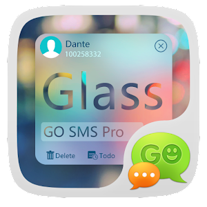 go sms pro z glass theme ex free android app market
