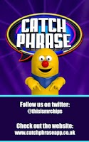 Screenshot of Catchphrase Classic