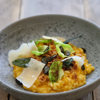 Frenchie's Butternut Squash and Amaretti Biscuit Risotto.